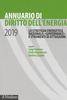 Mercatinidinataletorino.it Annuario di diritto dell'energia 2019 Image