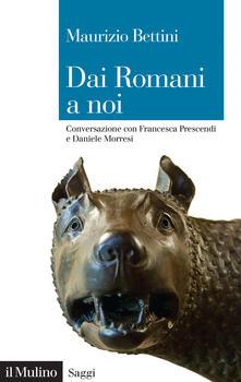 Voluntariadobaleares2014.es Dai romani a noi. Conversazione con Francesca Prescendi e Daniele Morresi Image