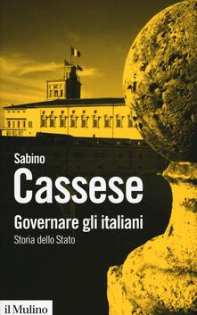 Ristorantezintonio.it Governare gli italiani. Storia dello Stato Image