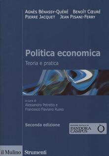Librisulladiversita.it Politica economica. Teoria e pratica Image