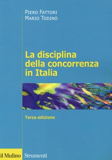 Winniearcher.com La disciplina della concorrenza in Italia Image