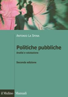 Antondemarirreguera.es Politiche pubbliche. Analisi e valutazione Image