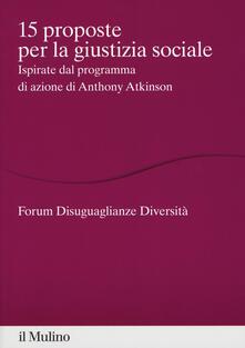 Daddyswing.es 15 proposte per la giustizia sociale. Ispirate dal programma di azione di Anthony Atkinson Image