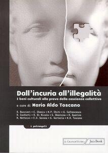 Libro Dall'incuria all'illegalità. I beni culturali alla prova della coscienza collettiva