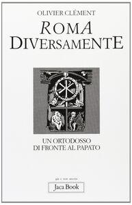 Libro Roma diversamente Olivier Clément