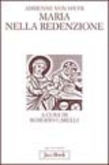 Maria nella redenzione - Adrienne von Speyr - copertina