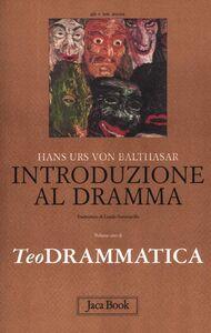 Libro Teodrammatica. Vol. 1: Introduzione al dramma. Hans U. von Balthasar