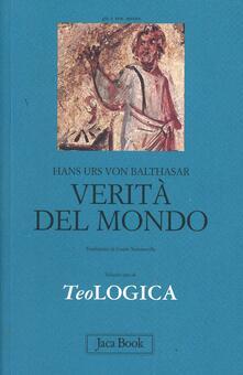 Antondemarirreguera.es Teologica. Vol. 1: Verità del mondo. Image