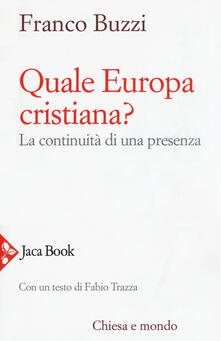 Winniearcher.com Quale Europa cristiana? La continuità di una presenza Image