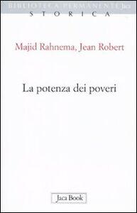 Libro La potenza dei poveri Majid Rahnema , Jean Robert