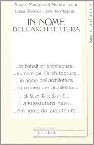 Libro In nome dell'architettura