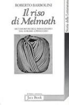 Il riso di Melmoth. Metamorfosi dell'immaginario dal sublime a Pinocchio