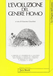 Libro L' evoluzione del genere homo