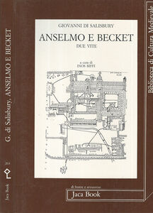 Libro Anselmo e Becket Giovanni di Salisbury