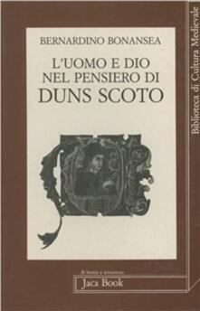 Librisulladiversita.it L' uomo e Dio nel pensiero di Duns Scoto Image