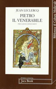 Libro Pietro il Venerabile Jean Leclercq