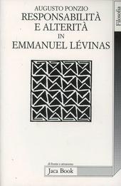 Responsabilità e alterità in Emmanuel Lévinas