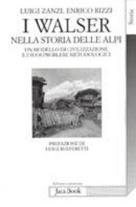 I Walser nella storia delle Alpi. Un modello di civilizzazione e i suoi problemi metodologici