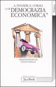 La «democrazia economica»