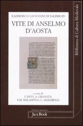 Vite di Anselmo d'Aosta. Testo latino a fronte