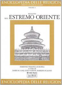 Foto Cover di Religioni dell'estremo Oriente, Libro di  edito da Jaca Book