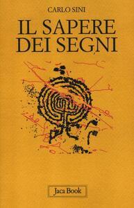 Il sapere dei segni. Filosofia e semiotica