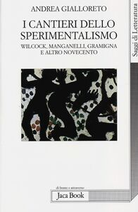 Foto Cover di I cantieri dello sperimentalismo. Wilcock, Manganelli, Gramigna e altro Novecento, Libro di Andrea Gialloreto, edito da Jaca Book