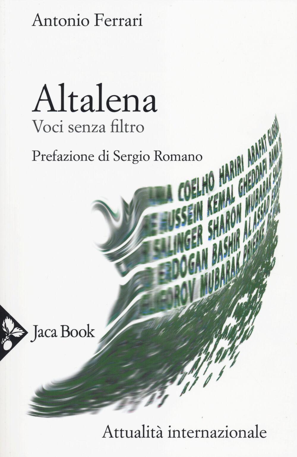Altalena. Voci senza filtro