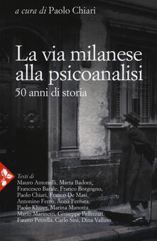Amatigota.it La via milanese alla psicoanalisi. 50 anni di storia Image