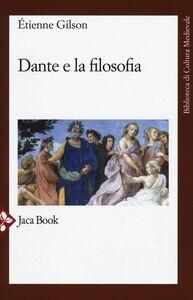 Libro Dante e la filosofia Étienne Gilson