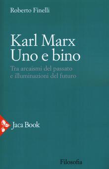 Festivalpatudocanario.es Karl Marx. Uno e bino. Tra arcaismi del passato e illuminazioni del futuro Image