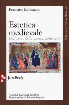 Letterarioprimopiano.it Estetica medievale. Dell'eros, della mensa, della città Image