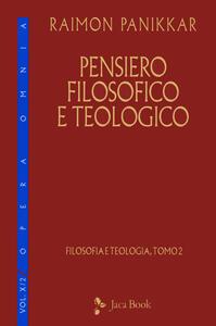 Libro Pensiero filosofico e teologico Raimon Panikkar