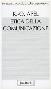 Libro Etica della comunicazione Karl Otto Apel