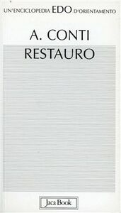 Foto Cover di Restauro, Libro di Alessandro Conti, edito da Jaca Book