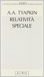 Relatività speciale