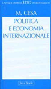 Politica e economia internazionale. Introduzione alle teorie di international political economy