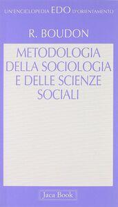 Metodologia della sociologia e delle scienze sociali