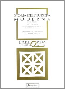 Libro Storia dell'Europa moderna (dal XVI al XIX secolo)