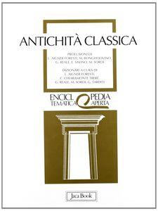 Foto Cover di Antichità classica, Libro di  edito da Jaca Book