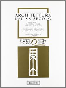 Libro Architettura del XX secolo