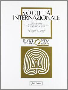 Libro Società internazionale