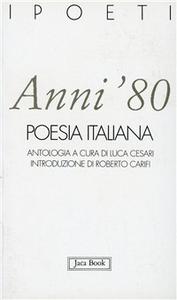 Libro Anni '80. Poesia italiana