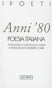 Anni '80. Poesia italiana