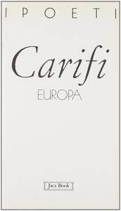Libro Europa Roberto Carifi