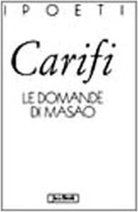 Libro La domanda di Masao Roberto Carifi