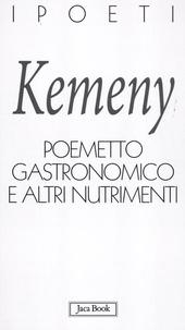 Poemetto gastronomico e altri nutrimenti