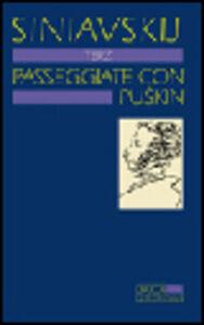 Libro Passeggiate con Puskin Andrej Sinjavskij