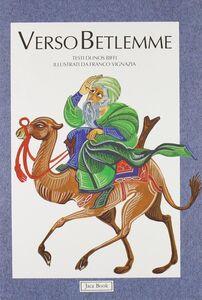 Foto Cover di Verso Betlemme, Libro di Inos Biffi, edito da Jaca Book
