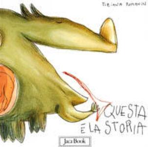 Foto Cover di Questa è la storia, Libro di Tiziana Romanin, edito da Jaca Book